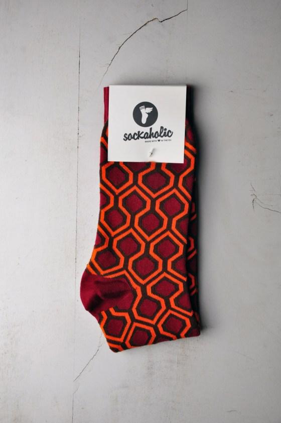 Overlock Hotel socks by Sockaholic