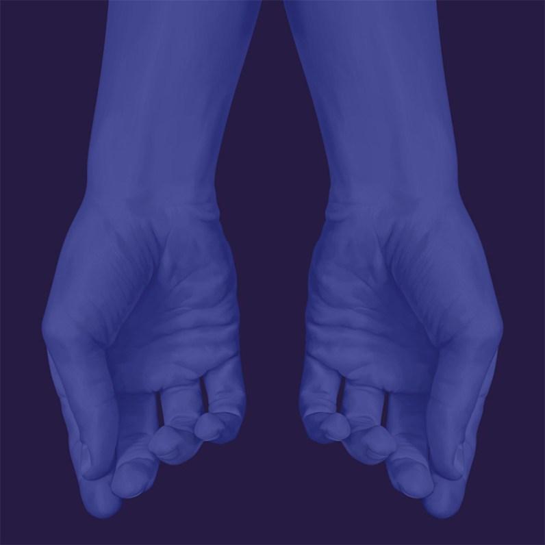 """""""Blue Series"""" de Jules Julien @ Espai Tactel"""