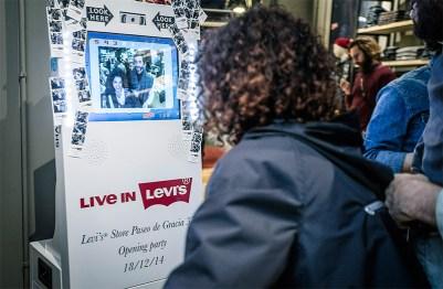 Inauguración de Levi's® temporary store en Barcelona