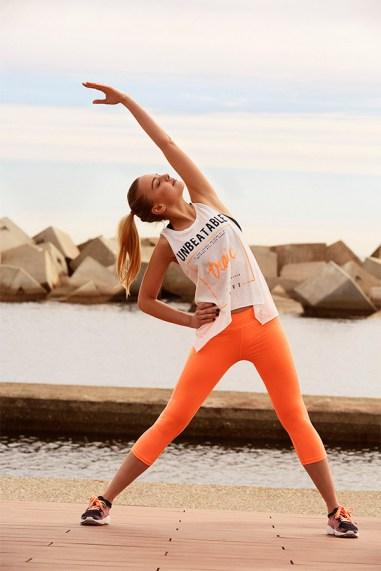 """""""Start Moving"""": Laura Hayden para Bershka"""