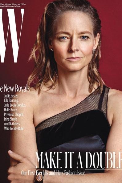 Jodie Foster / New Royals @ W Magazine