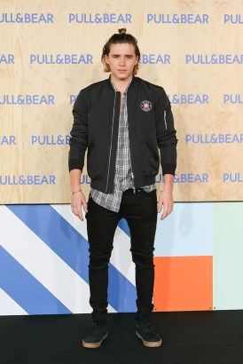 Brooklyn Beckham @ #PullAndBearHouse