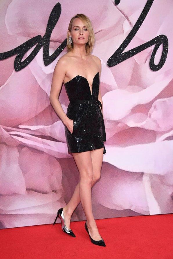 Amber Valetta @ Fashion Awards 2016