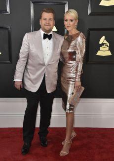 James Corden y Julia Carey @ Grammy 2017