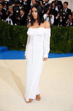 Kim Kardashian @ Met Gala 2017