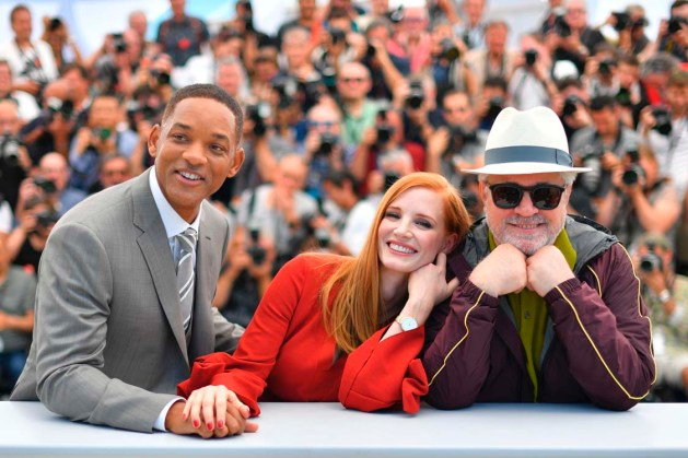 Will Smith, Jessica Chastain & Pedro Almodóvar @ Cannes 2017