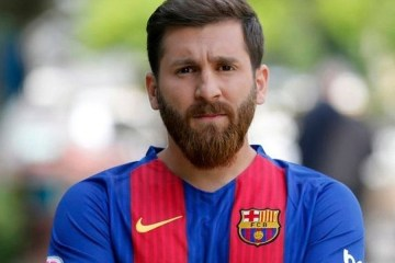El doble de Leo Messi