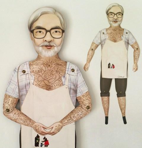 Crankbunny @ Miyazaki Art Show