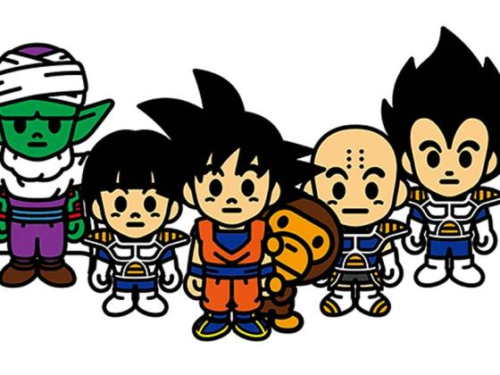 BAPE x Dragon Ball Z