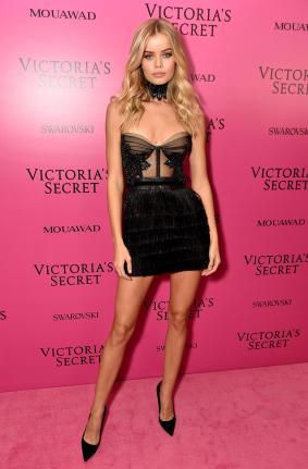 Frida Aasen @ Victoria's Secret Show 2017