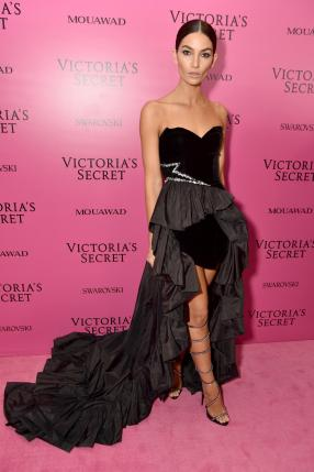 Lily Aldridge @ Victoria's Secret Show 2017