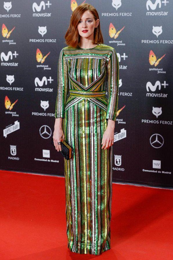 Ana Polvorosa (de Santos Costura) @ Premios Feroz 2018