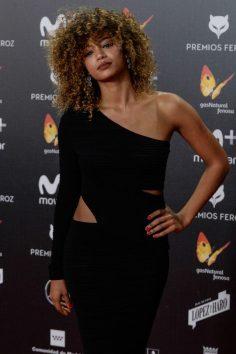 Berta Vázquez (de Elisabetta Franchi) @ Premios Feroz 2018