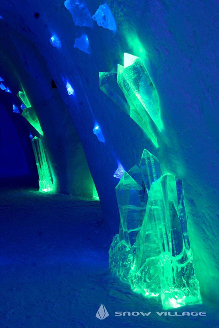 """Hotel de hielo """"Juego de Tronos"""""""