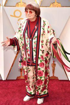 Agnès Varda (Gucci) @ Oscar 2018