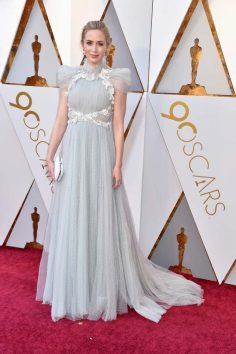 Emily Blunt (Schiaparelli) @ Oscar 2018