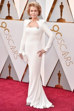 Jane Fonda (Balmain) @ Oscar 2018