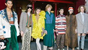 cf475ac038 Alessandro Michele demuestra que no todo estaba dicho en Gucci y reformula  la fiesta noctura para