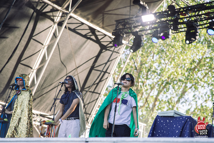 Superorganism @ Super Bock Super Rock 2019
