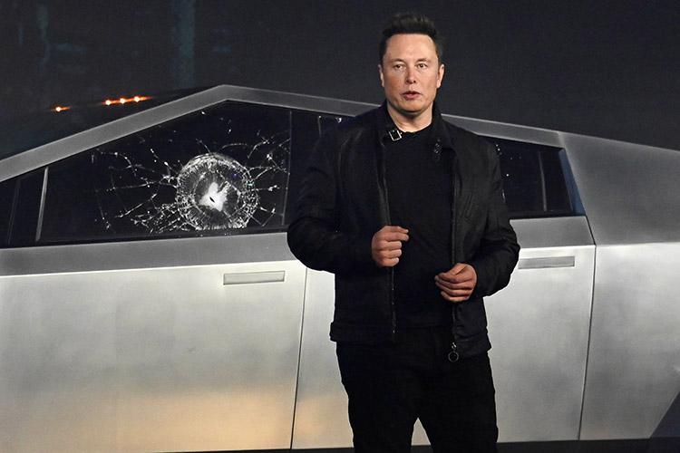 Cybertruck y Elon Musk
