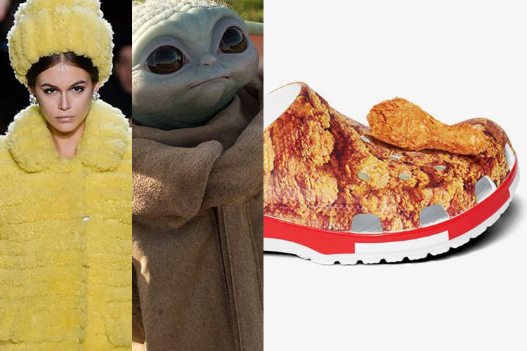 DOWN: Marc Jacobs, Baby Yoda, Crocs x KFC