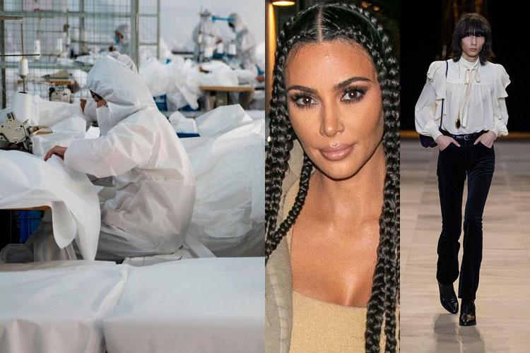 DOWN: Coronavirus, Kim Kardashian, Hedi Slimane x Celine...