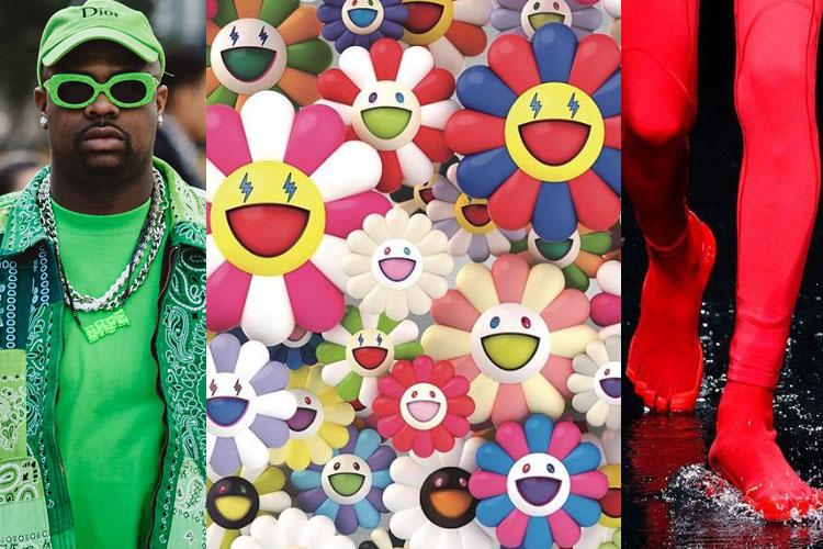 UP: Slime Green, Takashi Murakami x J Balvin, Balenciaga...