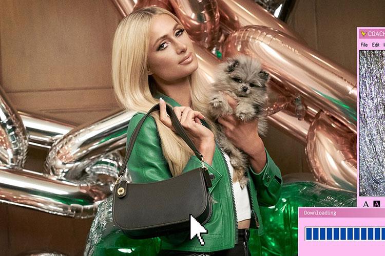Paris Hilton x Coach