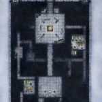 Temple - Upper Level fantasy dungeon map