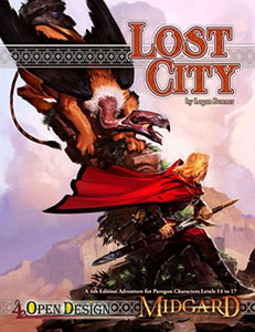 The Lost City fantasy adventure for 4e d&d
