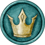 Green King Token for Great Hunt Game