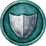 Green Shield Token for Great Hunt Game