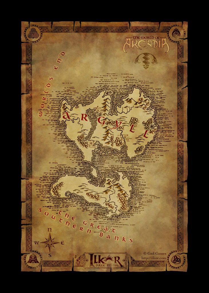 A world map of the continent of argyll for the fantasy browser g a world map of the continent of argyll for the fantasy browser game ilkor dark rising gumiabroncs Gallery