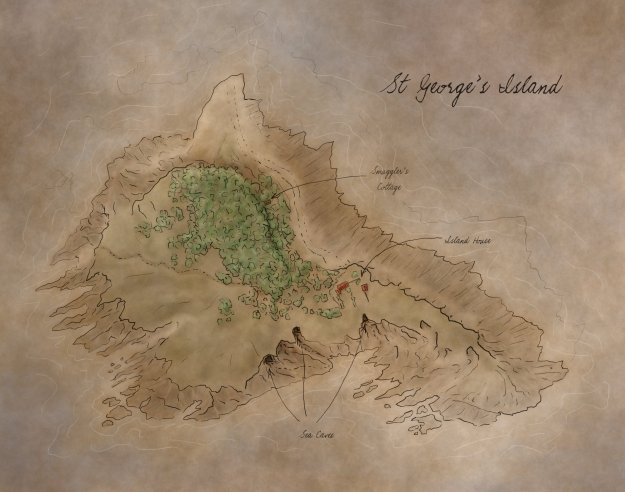 St George's Island Map for Call of Cthulhu