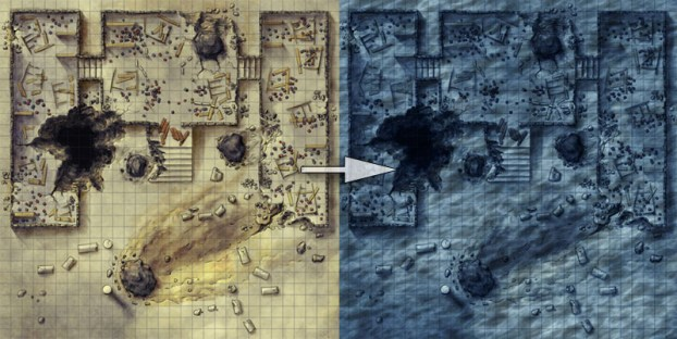 How to create a fantasy underwater map