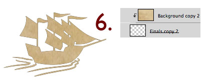 Adding texture to the ship icon