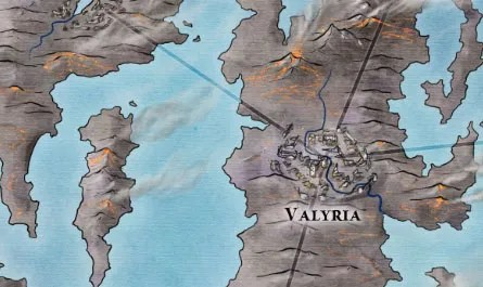 Valyria from the Slaver's Bay map for Game of Thrones
