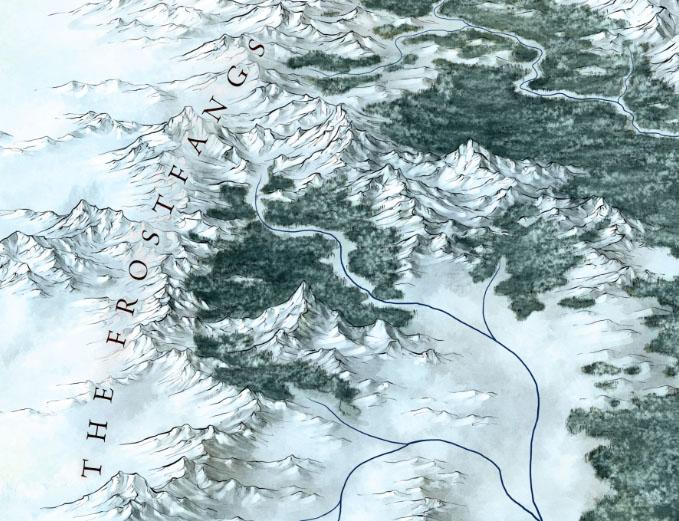 Frostfangs fantasy map detail