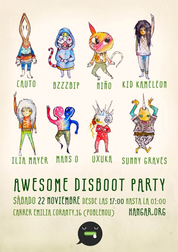 awesome-disboot-party