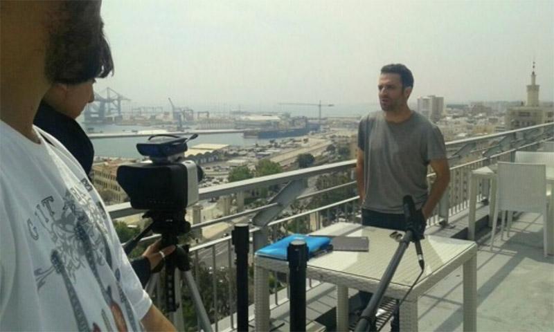 Entrevista a Daniel Guzmán (Biznaga de Oro)