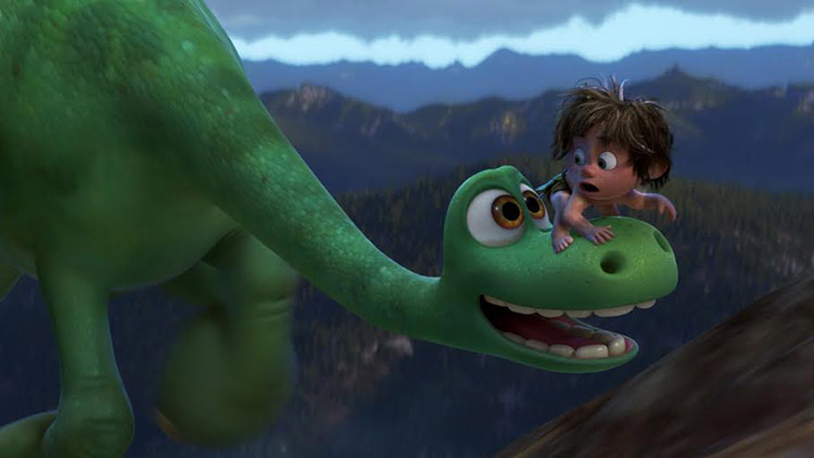 "¿""Ice Age""? ¿""The Croods""? No, ""The Good Dinosaur""."