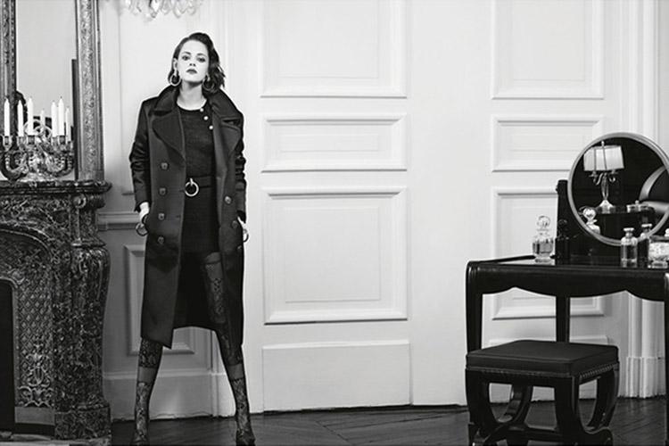 Kristen Stewart x Chanel (by Karl Lagerfeld)