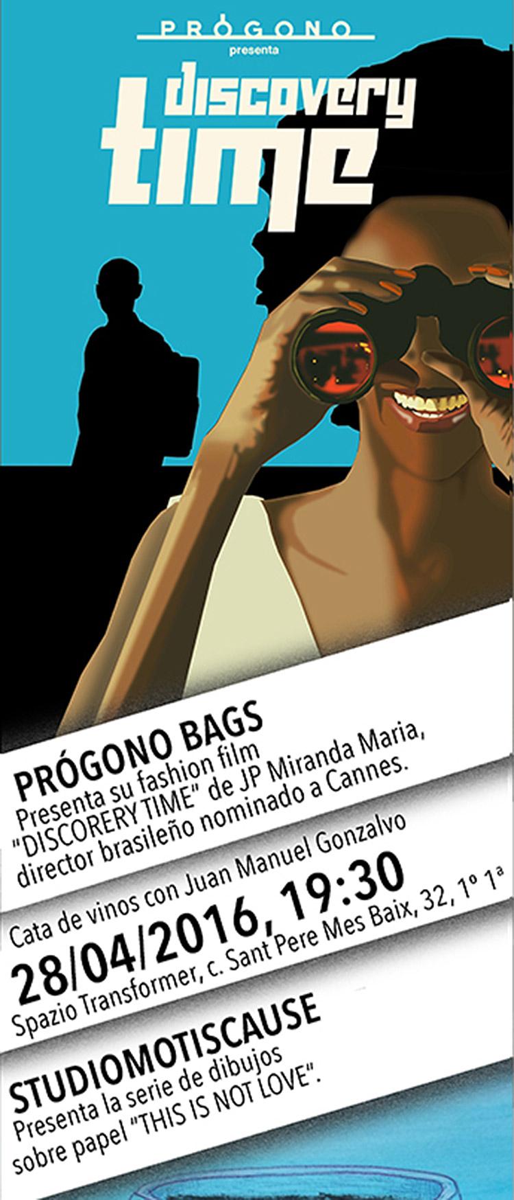 """Prógono presenta """"Discovery Time"""""""
