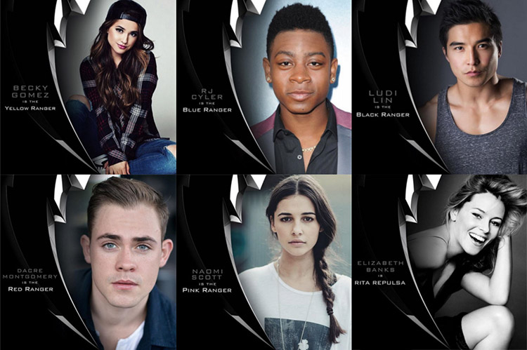 Power Rangers (casting)