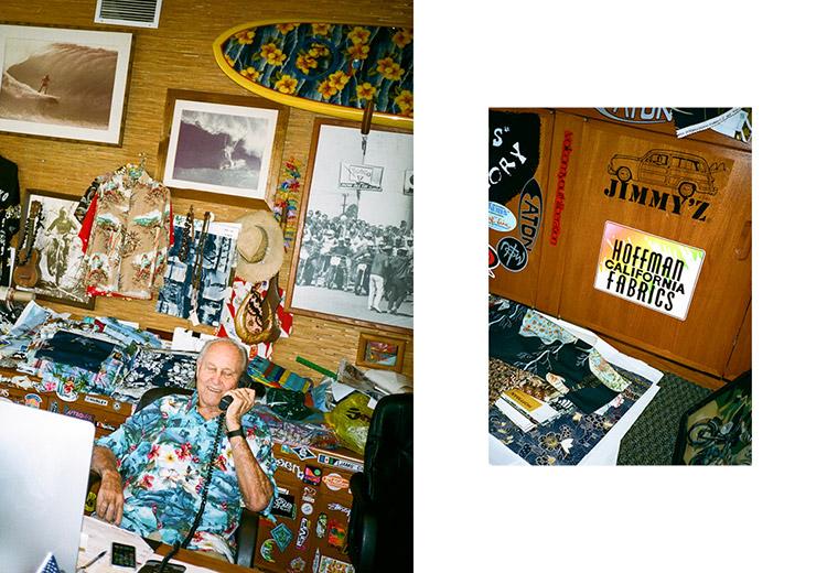 Stüssy x Hoffman Fabrics