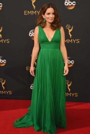 Tina Fey (Oscar de la Renta)