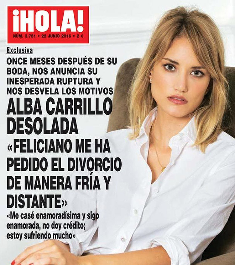 Alba Carrillo @ ¡Hola!