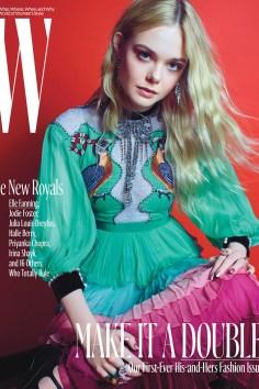 Elle Fanning / New Royals @ W Magazine