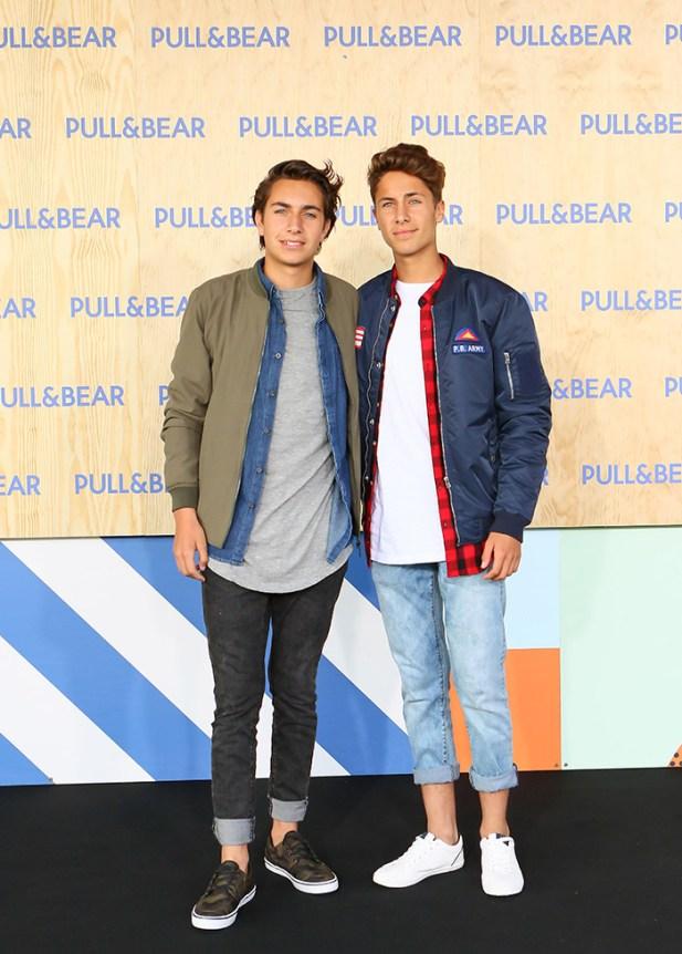 Andy y Juanpa Zurita @ #PullAndBearHouse