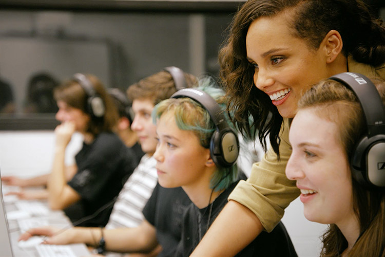 Alicia Keys @ Levi's Music Project